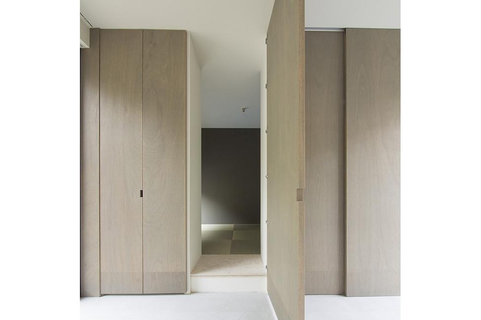 和室の隠し扉