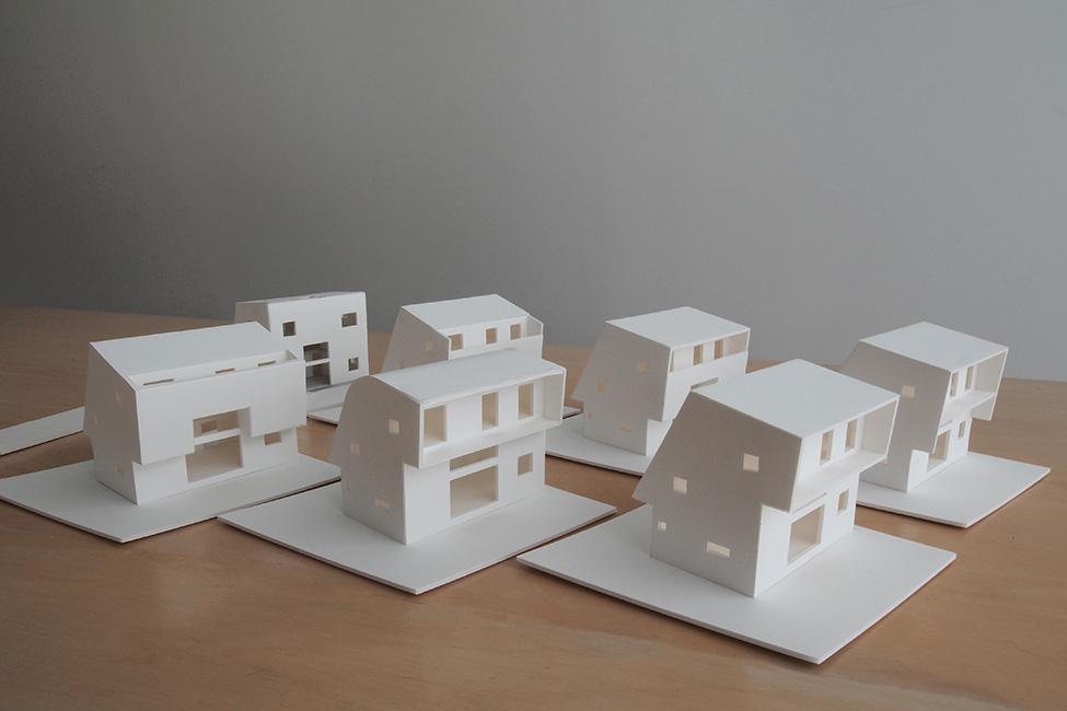 設計段階で作る模型