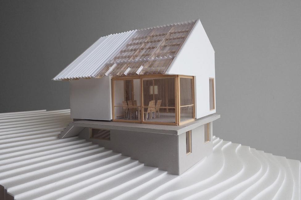 設計段階で多くの模型を作る